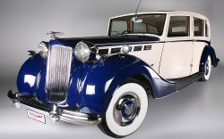 Packard super eight limousine  Freestone & Webb 1938 b